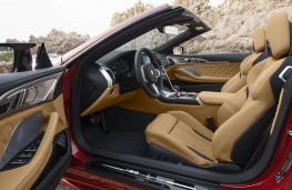 BMW M8 Competition Convertible front seats