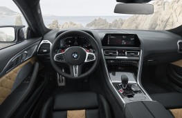 BMW M8 Competition Coupe cockpit