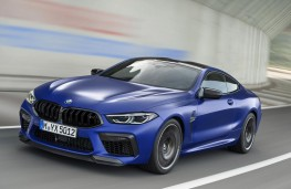 BMW M8 Competition Coupe front action