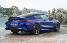 BMW M8 Competition Coupe rear threequarters