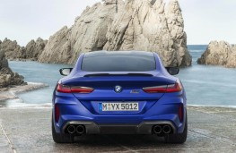 BMW M8 Competition Coupe rear