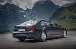 BMW 7 Series, rear