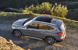 BMW X1 2019 overhead off road