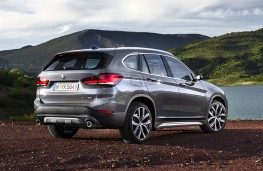 BMW X1 2019 rear threequarters static