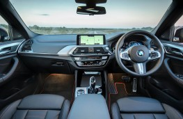 BMW X4, dashboard