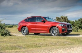 BMW X4, front static