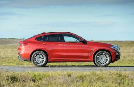 BMW X4, side static