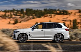BMW X5, side action