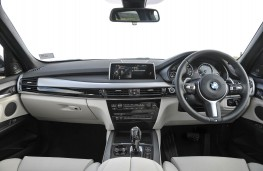 BMW X5 xDrive40e, dashboard