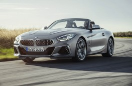 BMW Z4, front action