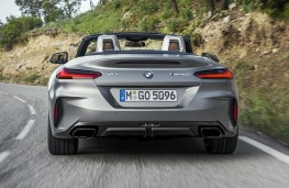 BMW Z4 2019 rear action