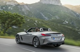 BMW Z4 2019 rear threequarter action