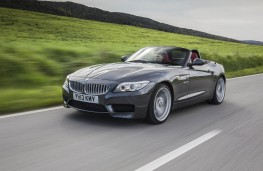 BMW Z4, front, roof down