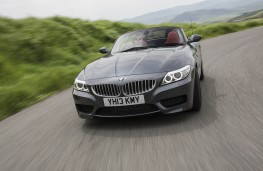 BMW Z4, front, action