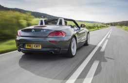 BMW Z4, rear, action