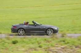 BMW Z4, side, roof down