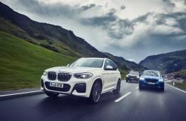 BMW X1 xDrive25e and X2 xDrive25e, 2020, front