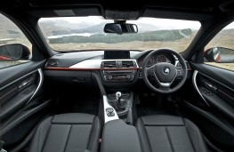 BMW 3 Series, Sport trim, interior