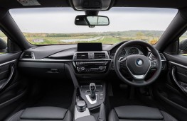 BMW 420d xDrive, 2017, interior