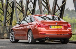 BMW 420d xDrive, 2017, rear, static
