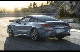 BMW 8 Series Coupe, rear