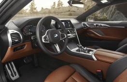 BMW 8 Series Coupe, cabin