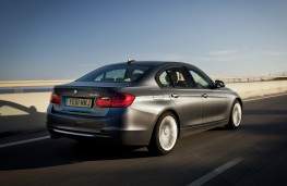 BMW 328i, rear