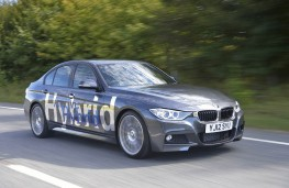 BMW Active Hybrid 3, front