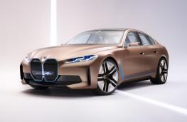 BMW i4 Gran Coupe concept, 2020