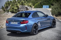 BMW M2 Coupe, rear