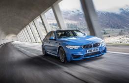 BMW M3, front