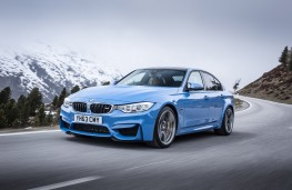 BMW M3, front, action