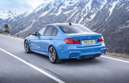 BMW M3, rear