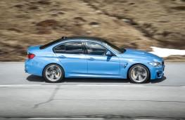 BMW M3, side