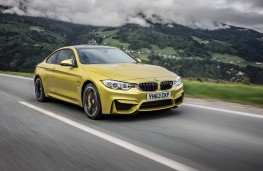 BMW M4, front, action