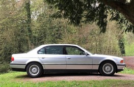 BMW 750iL, 1995, once owned by Francis Rossi, side