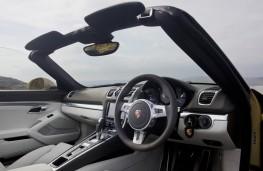 Porsche Boxster, 2015, interior