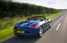 Porsche Boxster Rear