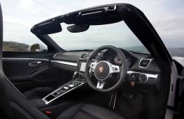 Porsche Boxster, interior