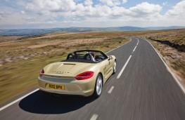 Porsche Boxster, rear