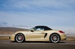 Porsche Boxster, side