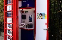 Peugeot phone box dealership, Russell Square, London