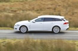 Jaguar XF Sportbrake, side, action