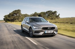 Volvo V60, 2018, front, action