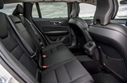 Volvo V60, 2018, rear seats