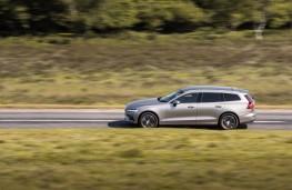 Volvo V60, 2018, side