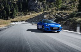 Subaru BRZ, 2017, front, action