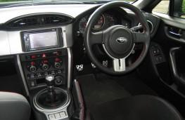Subaru BRZ, 2017, interior