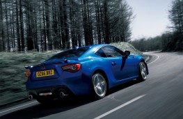 Subaru BRZ, 2017, rear, action
