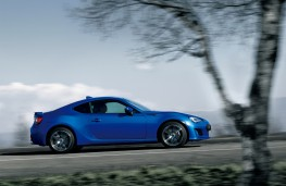 Subaru BRZ, 2017, side, action